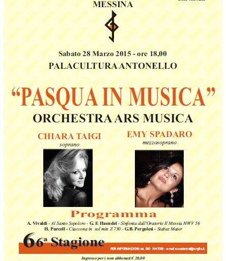 Accademia Filarmonica ente morale Messina 28 marzo 2015