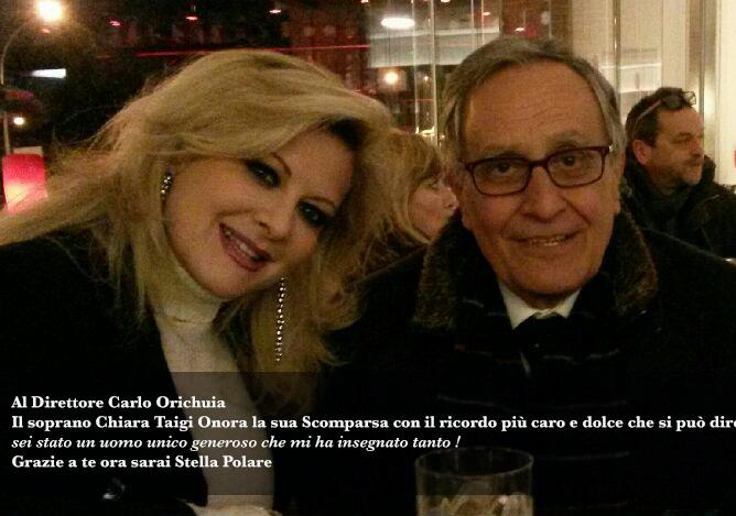 Al Direttore Carlo Orichuia